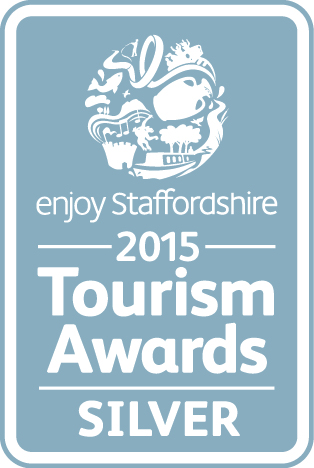 Enjoy Staffordshire 2015 Tourism Award