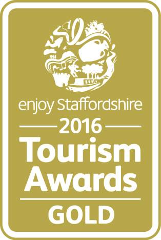 Enjoy Staffordshire 2016 Tourism Award